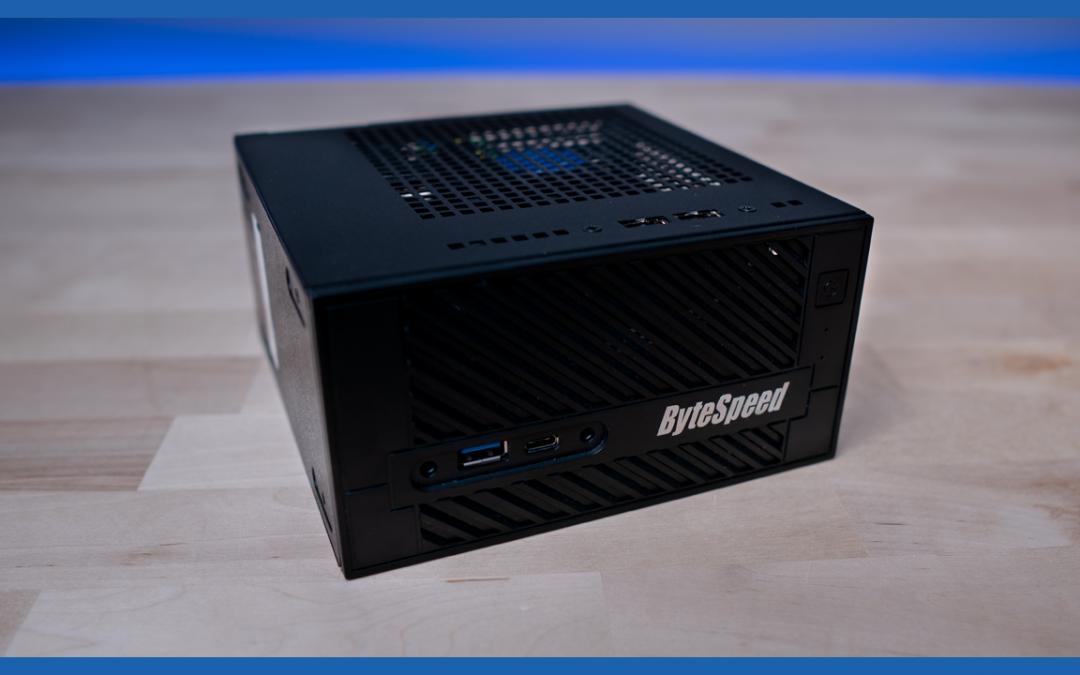Got a Minute? Meet the ByteSpeed Value H310S Mini PC