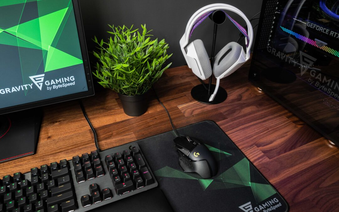 Seven weeks remaining of Gravity Gaming by ByteSpeed's Logitech G Giveaway
